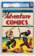 Platinum Age (1897-1937):Miscellaneous, New Adventure Comics #19 Mile High pedigree (DC, 1937) CGC NM+ 9.6 Off-white to white pages....