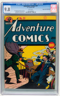 Golden Age (1938-1955):Superhero, Adventure Comics #51 Mile High pedigree (DC, 1940) CGC NM/MT 9.8 White pages....