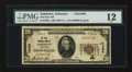 National Bank Notes:Arkansas, Ashdown, AR - $20 1929 Ty. 1 The First NB Ch. # 10486. An excessively rare bank in small size, with this institution bow...