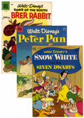 Golden Age (1938-1955):Miscellaneous, Four Color Disney Related Group (Dell, 1952-57).... (Total: 6 Comic Books)