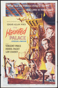 "Movie Posters:Horror, The Haunted Palace (American International, 1963). One Sheet (27"" X 41""). Horror.. ..."