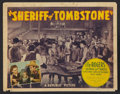"""Sheriff of Tombstone (Republic, 1941). Title Lobby Card and Lobby Cards (3) (11"""" X 14""""). Western. ... (Total:..."""