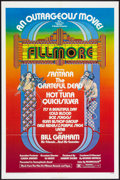 "Movie Posters:Rock and Roll, Fillmore (20th Century Fox, 1972). One Sheet (27"" X 41""). Rock and Roll.. ..."
