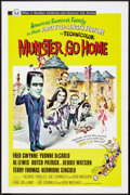 "Movie Posters:Comedy, Munster, Go Home (Universal, 1966). One Sheet (27"" X 41""). Comedy.. ..."
