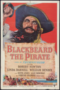 "Movie Posters:Action, Blackbeard the Pirate (RKO, 1952). One Sheet (27"" X 41""). Action....."