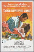 "Movie Posters:Romance, Gone with the Wind (MGM, R-1968). One Sheet (27"" X 41""). Romance.. ..."