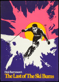 "Movie Posters:Sports, Last of the Ski Bums (U-M Distributors, 1969). Poster (29"" X 41""). Sports Documentary.. ..."