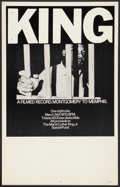 """Movie Posters:Documentary, King: A Filmed Record...Montgomery to Memphis (Maron Films, 1970). Window Card (14"""" X 22""""). Documentary.. ..."""