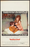 """Movie Posters:Comedy, Bedazzled (20th Century Fox, 1968). Window Card (14"""" X 22""""). Comedy.. ..."""