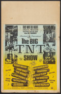 "Movie Posters:Rock and Roll, The Big T.N.T. Show (American International, 1966). Benton WindowCard (14"" X 22""). Rock and Roll.. ..."