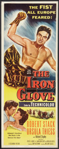 "Movie Posters:Adventure, The Iron Glove (Columbia, 1954). Insert (14"" X 36""). Adventure....."