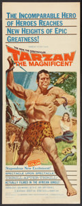 "Movie Posters:Adventure, Tarzan the Magnificent Lot (Paramount, 1960). Inserts (2) (14"" X36""). Adventure.. ... (Total: 2 Items)"