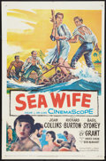 "Movie Posters:Drama, Sea Wife (20th Century Fox, 1957). One Sheet (27"" X 41""). Drama.. ..."