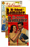Golden Age (1938-1955):Romance, Hi-School Romance File Copy Group (Harvey, 1949-63) Condition:Average VF.... (Total: 76 Comic Books)