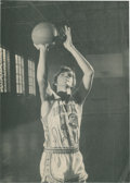 Basketball Collectibles:Photos, Pete Maravich Signed Photograph....