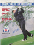 Miscellaneous Collectibles:General, 1995 Don Drysdale Hall of Fame Golf Classic Multi Signed Program....
