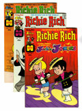 Bronze Age (1970-1979):Cartoon Character, Richie Rich and Jackie Jokers + File Copy Group (Harvey, 1973-82)Condition: NM-.... (Total: 48 Comic Books)