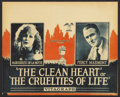 "Movie Posters:Drama, The Clean Heart (Vitagraph, 1924). Lobby Card Set of 8 (11"" X 14"").Drama.. ... (Total: 8 Items)"