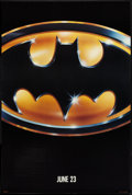 "Movie Posters:Action, Batman (Warner Brothers, 1989). One Sheet (27"" X 40"") SS Advance.Action.. ..."
