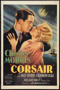 "Corsair (Artcinema Associates, 1931). One Sheet (27"" X 41""). Adventure"