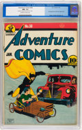Golden Age (1938-1955):Superhero, Adventure Comics #58 (DC, 1941) CGC NM- 9.2 Off-white to white pages....