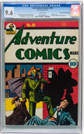Golden Age (1938-1955):Superhero, Adventure Comics #60 Mile High pedigree (DC, 1941) CGC NM+ 9.6 White pages....