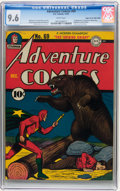 Golden Age (1938-1955):Superhero, Adventure Comics #69 Mile High pedigree (DC, 1941) CGC NM+ 9.6 White pages....