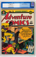 Golden Age (1938-1955):Superhero, Adventure Comics #76 Mile High pedigree (DC, 1942) CGC NM+ 9.6 Off-white to white pages....