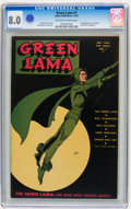 Golden Age (1938-1955):Superhero, Green Lama #1 (Spark Publications, 1944) CGC VF 8.0 Off-white white pages....