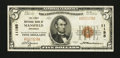 National Bank Notes:Arkansas, Mansfield, AR - $5 1929 Ty. 1 The First NB Ch. # 11195. ...