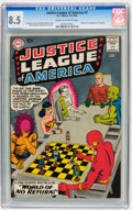 Silver Age (1956-1969):Superhero, Justice League of America #1 (DC, 1960) CGC VF+ 8.5 Cream to off-white pages....