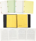Movie/TV Memorabilia:Documents, Sister Act Script Archive with Call Sheets.... (Total: 5 Items)