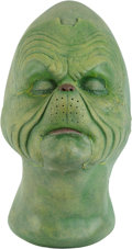 Movie/TV Memorabilia:Props, Jim Carrey's How The Grinch Stole Christmas Make-up Face Cast....