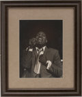 Music Memorabilia:Photos, Otis Redding Framed Photo....