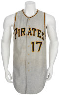 Baseball Collectibles:Uniforms, 1963 Donn Clendenon Game Worn Jersey....