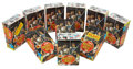 Basketball Cards:Lots, 1970-71 Topps Basketball Counter Display Box Collection (10). ...