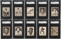 Baseball Cards:Sets, 1952 Parkhurst Baseball Near Set (99/100) - #1 on the SGC Set Registry!...