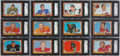 Football Cards:Sets, 1966 Topps Football Complete Set (132) - #1 on the SGC Set Registry....