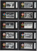 Baseball Cards:Sets, 1971 Topps Greatest Moments Complete Set (55) - #1 on the SGC SetRegistry!...