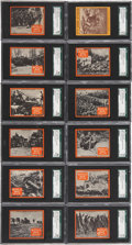 "Non-Sport Cards:Sets, 1933 R174 Goudey ""World War Gum"" SGC-Graded Complete Set (96). ..."