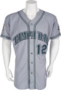 Baseball Collectibles:Uniforms, 2001 Wade Boggs Game Worn Jersey....