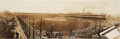 Baseball Cards:Singles (Pre-1930), Very Rare C. 1907 Schumann Studios Cubs vs Tigers World Series RealPhoto Panorama Post Card. ...