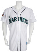 Baseball Collectibles:Uniforms, 1997 Ken Griffey, Jr. Game Worn Jersey....