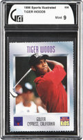 Golf Cards:General, 1996 Sports Illustrated for Kids Tiger Woods #536 GAI Mint 9. ...