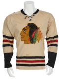Hockey Collectibles:Uniforms, 1963-64 Phil Esposito Game Worn Rookie Jersey - With Perfect Photomatch!...