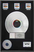 Music Memorabilia:Awards, The Beatles Help! RIAA Platinum Album Award....
