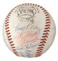 Autographs:Baseballs, 1969 National League All-Star Team Signed Baseball....