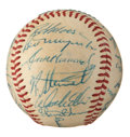 Autographs:Baseballs, 1972 Pittsburgh Pirates Team Signed Baseball....