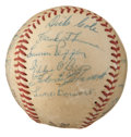Autographs:Baseballs, 1955 Pittsburgh Pirates Team Signed Baseball....