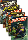 Golden Age (1938-1955):Science Fiction, Tom Corbett Space Cadet #6 and 8-11 Group (Dell, 1953-54)....(Total: 5 Comic Books)
